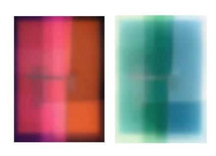 Diptych: digital print on waterproof ink on drafting film